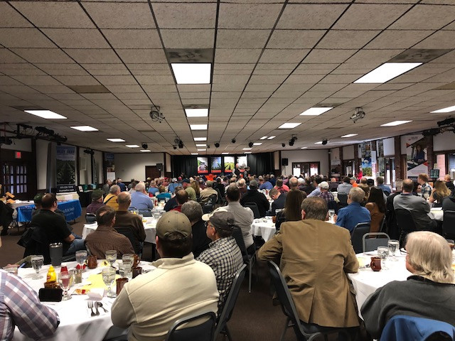 The WILL AG All Day Ag Outlook Meeting on Tuesday / CIFN photo.