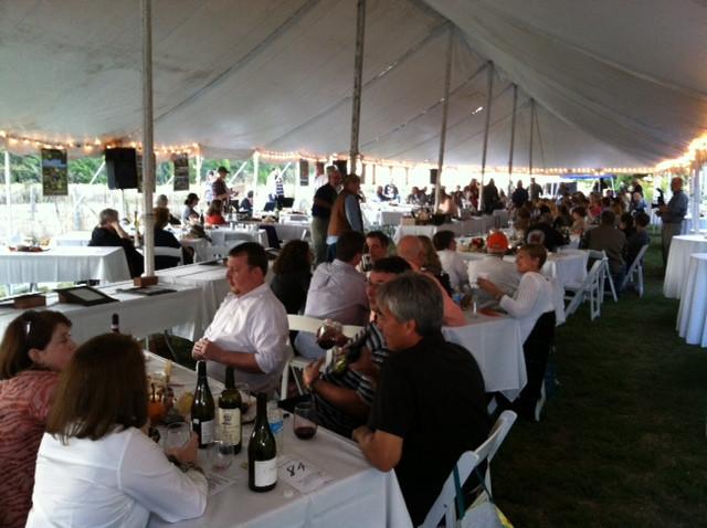 A previous Spence Farm harvest feast is shown / CIFN photo.
