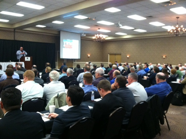 Last week's Illinois Farmland Values Conference in Bloomington / CIFN photo