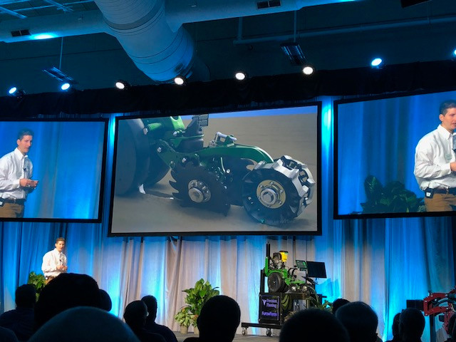 CIFN file photo of last year's Precision Planting Winter Conference at Tremont.