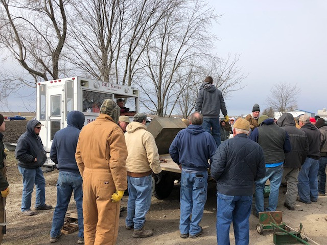A local farm auction is shown in 2018 / CIFN file photo.