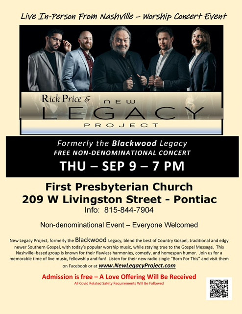 Gospel group to perform