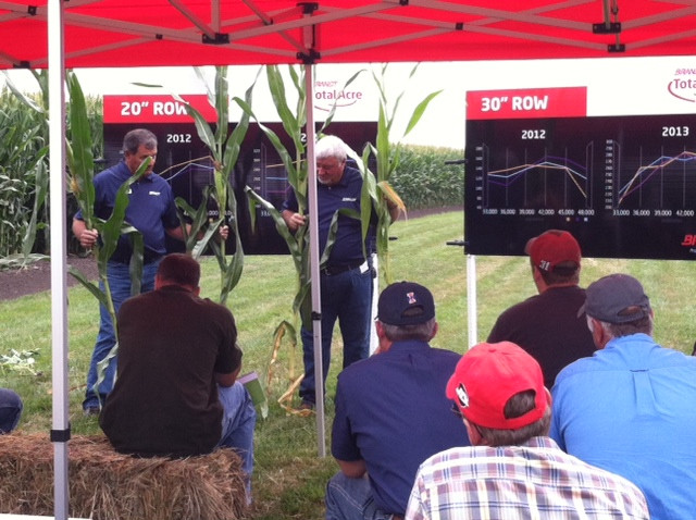 A previous Brandt agronomy day is shown / CIFN file photo.