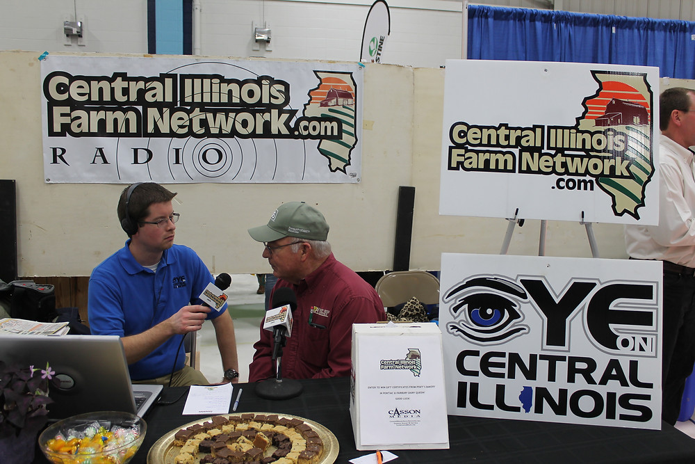 CIFN's Kent Casson interviewed Dale Atkins of Atkins Seed Service at last year's Farm and Home Show in Forrest.