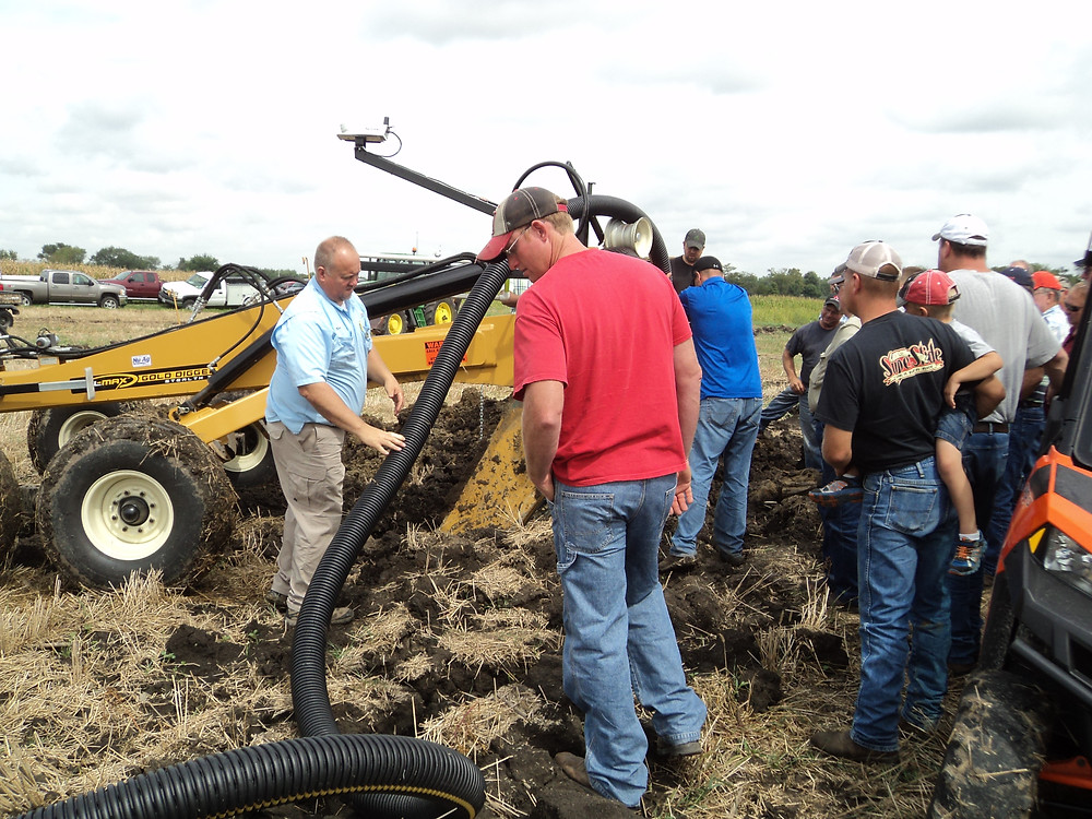Last year's tile demo day at Nu-Ag Technology / CIFN file photo.
