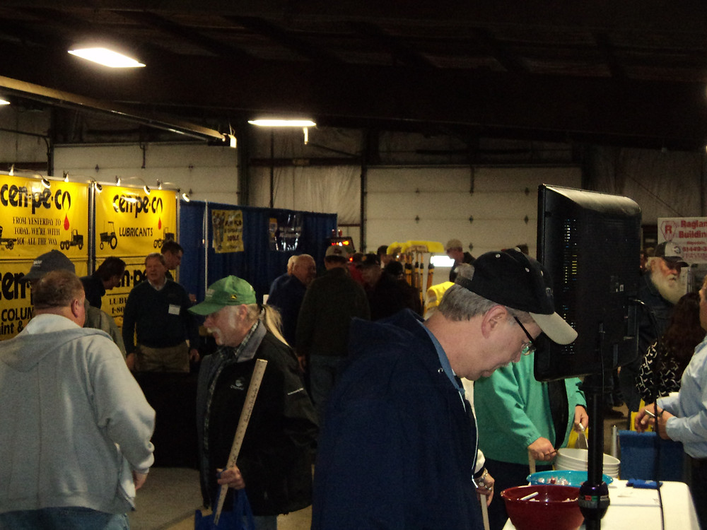 Kent's view during Midwest Ag Expo near Gifford last week / CIFN file photo