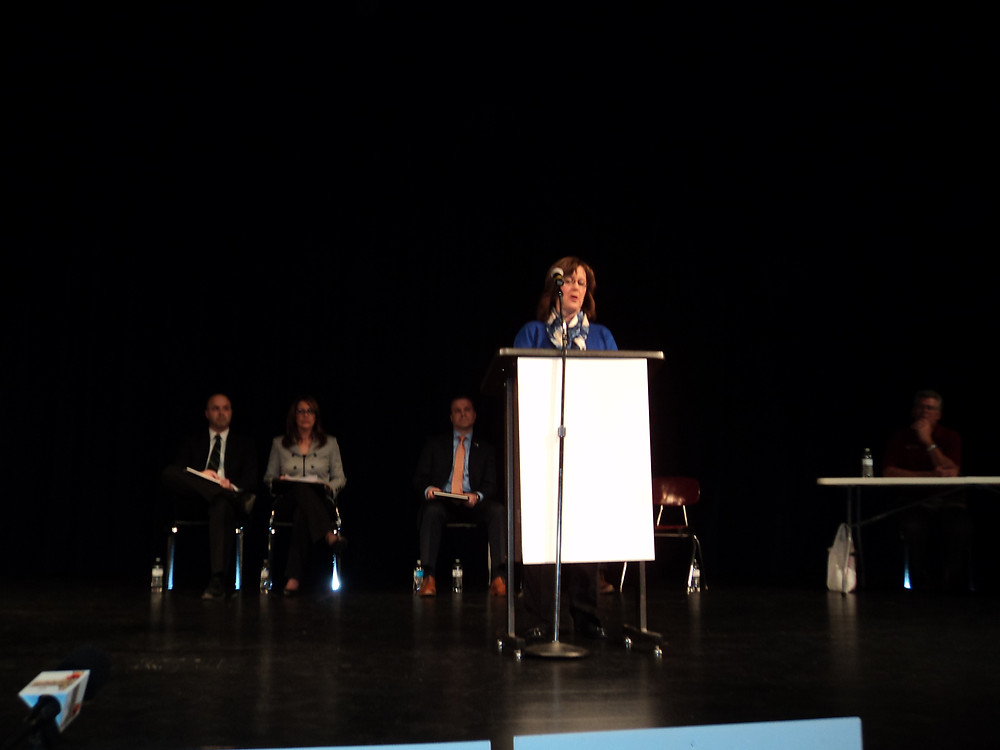 A former candidate forum is shown in Pontiac / CIFN file photo.