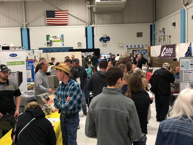 Last year's PC FFA Farm and Home Show is shown in Forrest / CIFN file photo.
