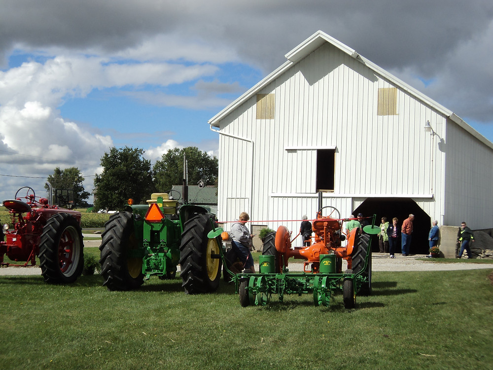 A view of last summer's McLean County Barnkeepers tour near Chenoa / CIFN file photo.