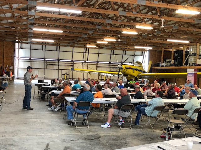 A view of the Schertz Aerial Service summer meeting / CIFN photo.
