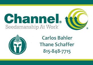 CHANNEL SEED CARLOS BAHLER THANE SCHAFFE