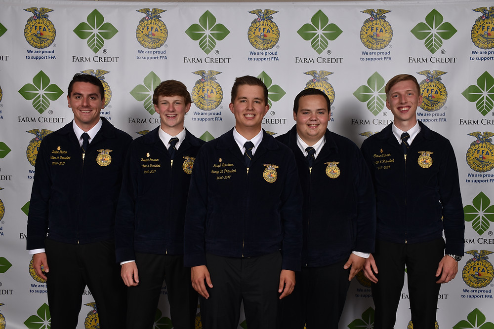 Photo courtesy of Farm Credit & Illinois FFA
