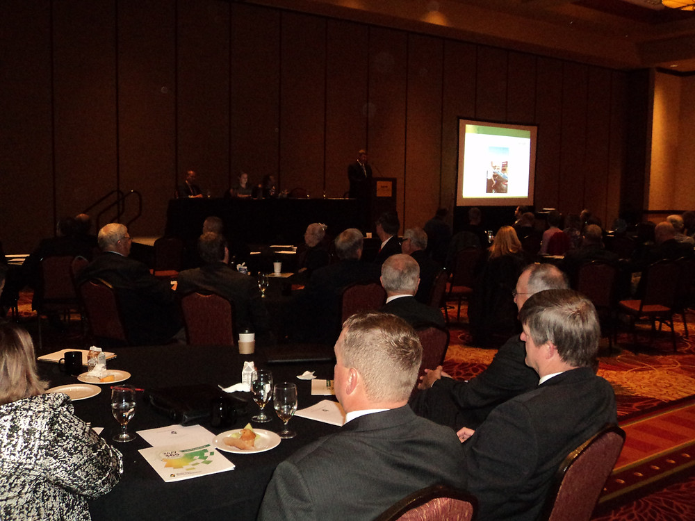The IL Corn annual meeting is shown in Bloomington-Normal last week / CIFN photo.
