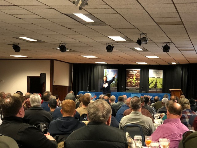 A view of last week's All Day Ag Outlook Meeting at the Beef House / CIFN photo.