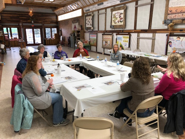 A group of women landowners met in Chatsworth at the Connection Center in February / CIFN photo.
