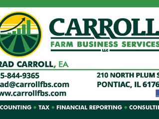 Carroll can help with tax questions