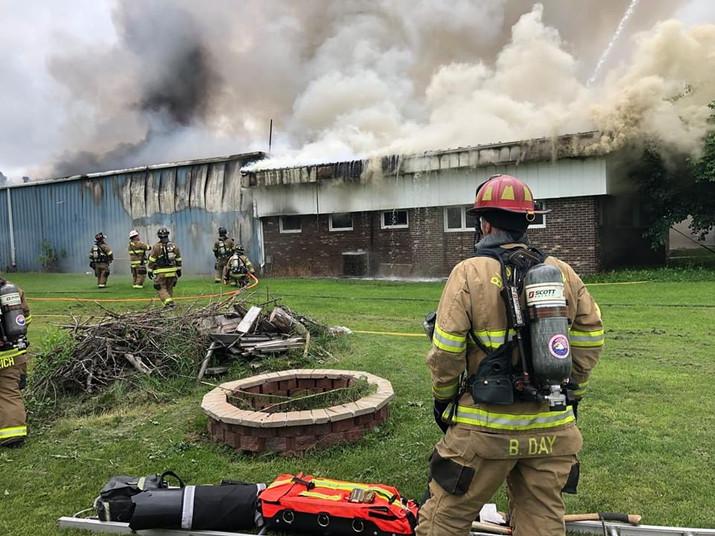 Towanda business damaged by fire