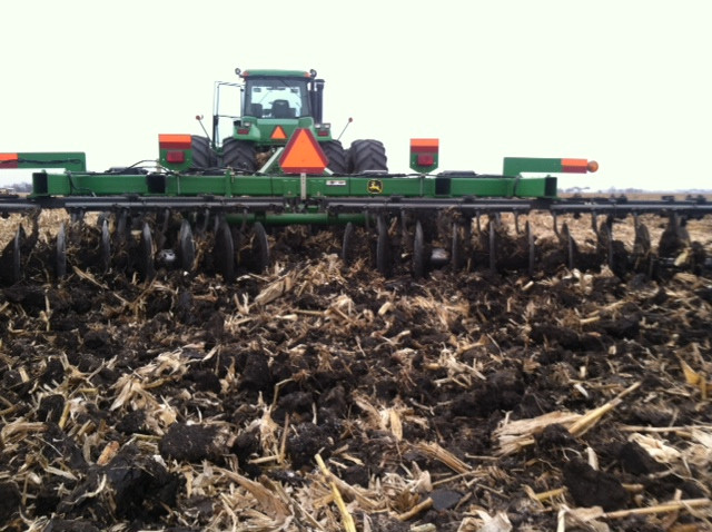 A chisel plow is shown in Central Illinois during a previous growing season / CIFN file photo.