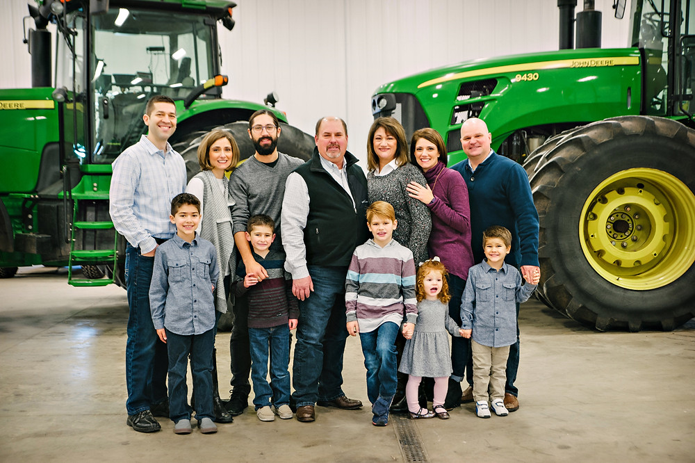 Curt Zehr and his family pose for a photo (image courtesy of IPPA)