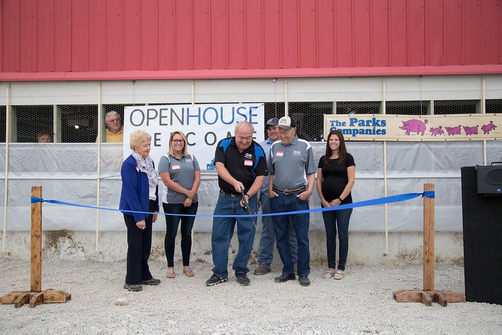 Photo courtesy of the Illinois Pork Producers Association