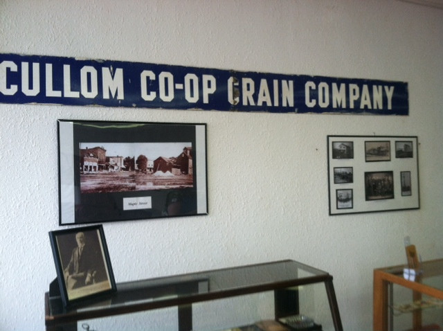 A view of the Cullom Historical Museum's wall / CIFN photo.