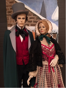 Holiday window exhibit featured