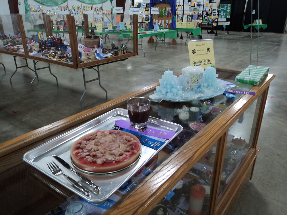 4-H exhibits are shown at last year's fair / CIFN file photo.