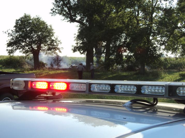 Pedestrian incident results in arrest