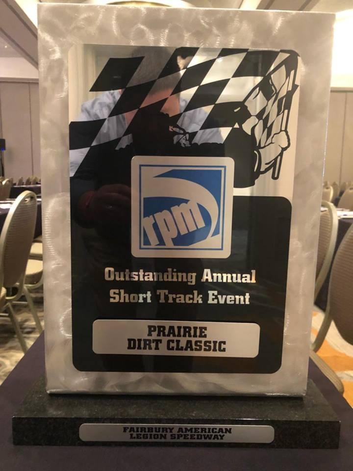 From Fairbury American Legion Speedway Facebook page.