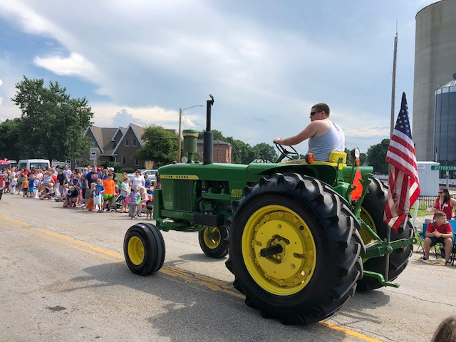 A view of last year's Towanda Fourth of July parade / CIFN photo.