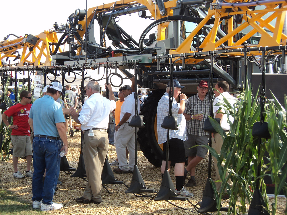 360 Yield Center's Y-Drop is shown during the 2015 Farm Progress Show at Decatur / CIFN file photo