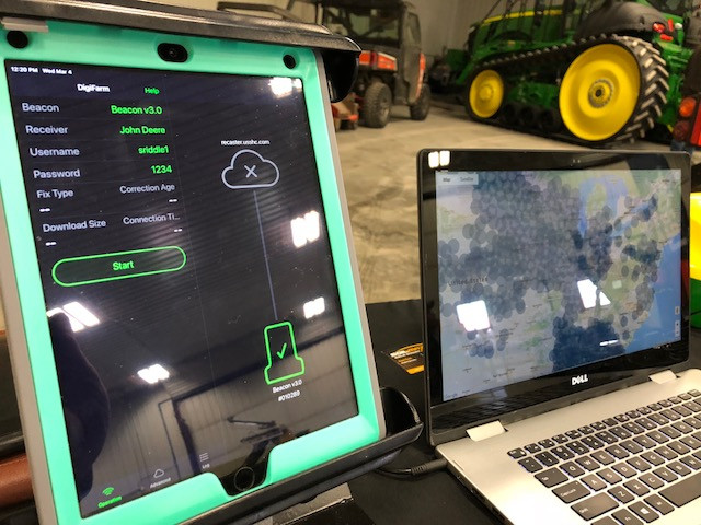 Ag technology on display last week at Nu-Ag Technology's open house in Chatsworth / CIFN photo.