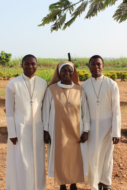 Mother Lucia and the brothers
