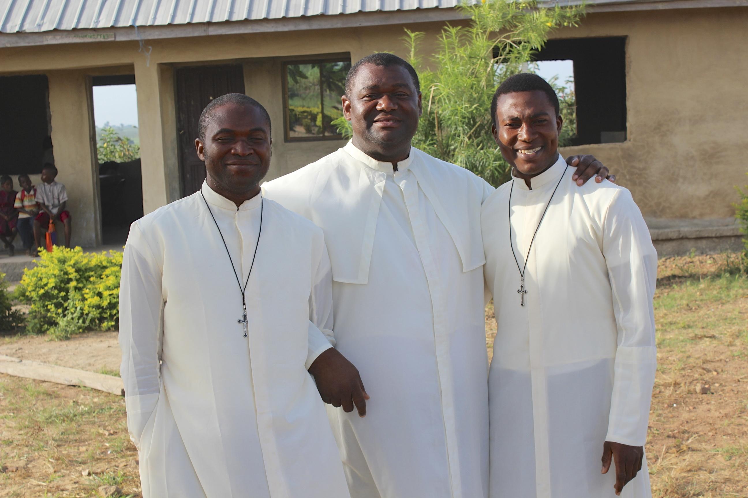 Basilmary, Fr. Vitalis and Dominic