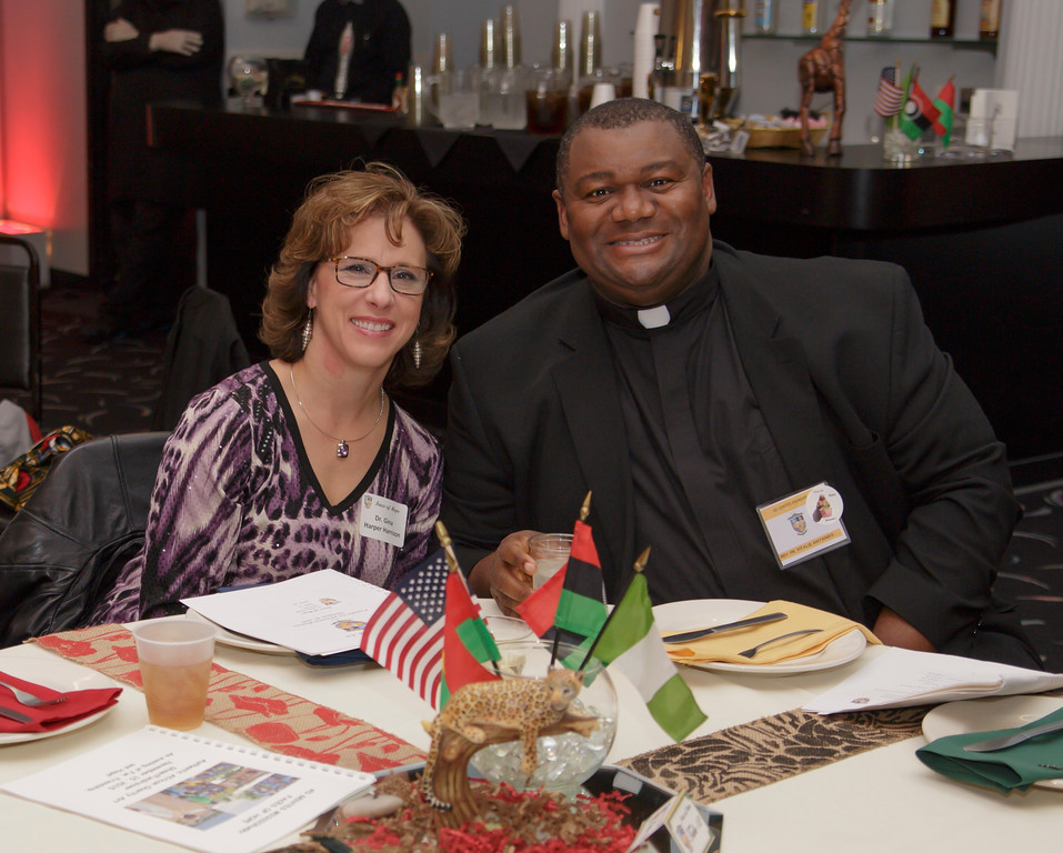 Dr. Harrison and Fr. Vitalis