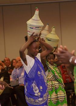 Burundi Choir performance