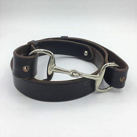 Newmarket Snaffle Bit Belt