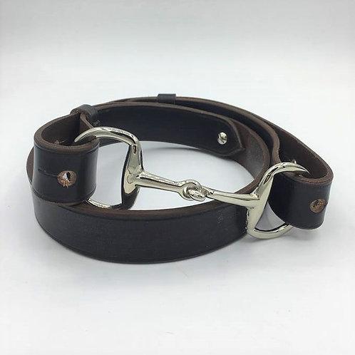 Newmarket Rowley Snaffle Bit Belt
