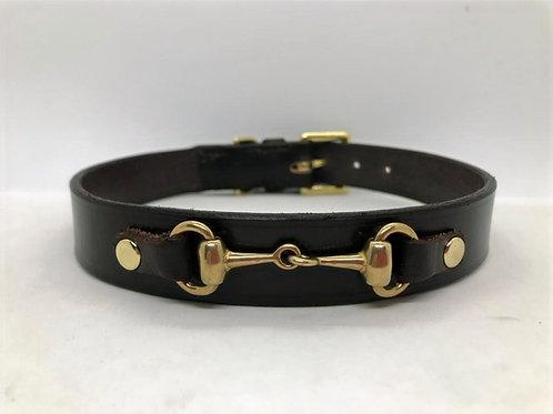 Snaffle Bit Dog Collar (Width 2)