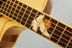 Bamburg Custom Guitar Dove Inlay