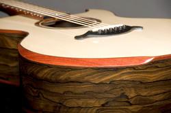 Bamburg Custom Guitar Arm Bevel