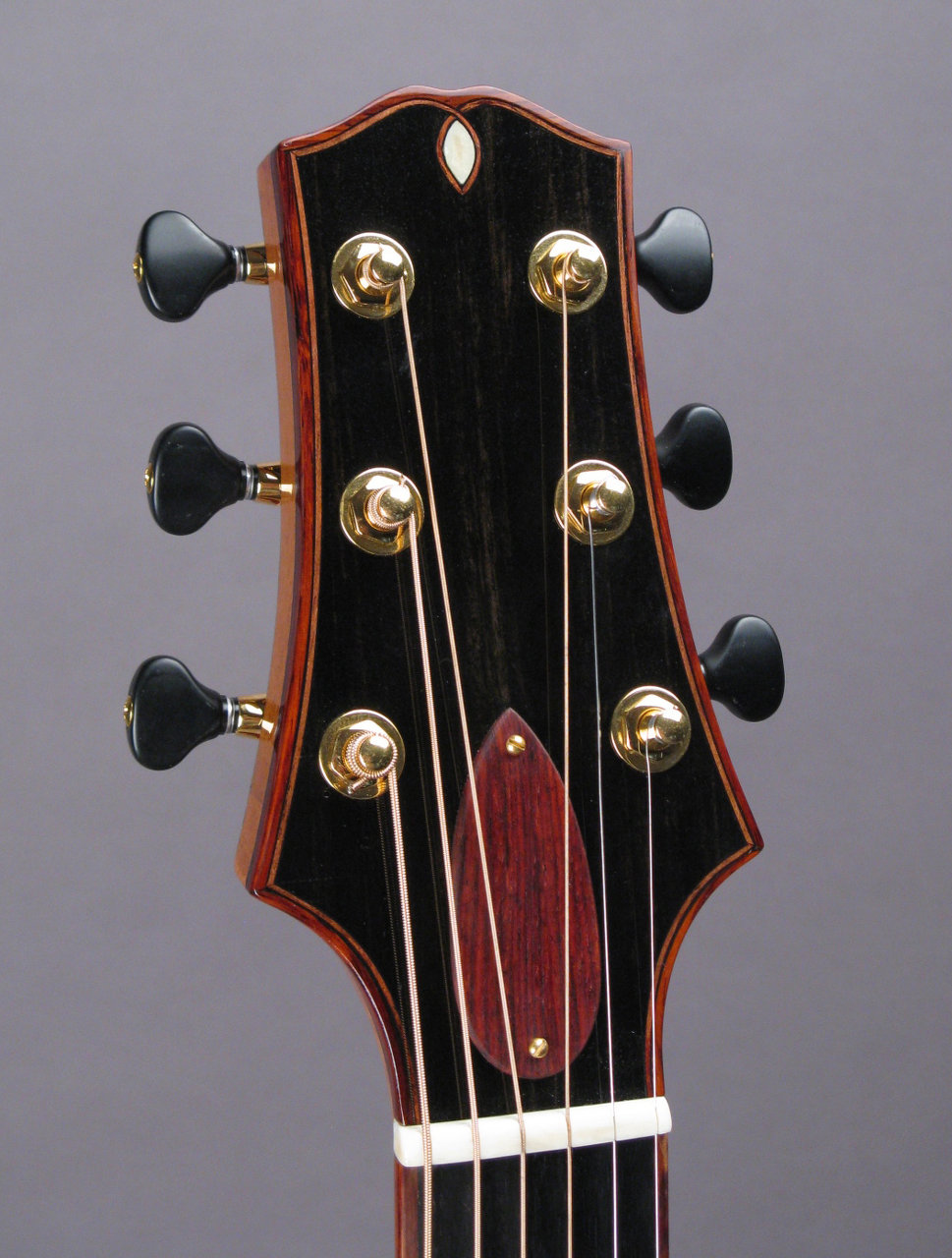 Headstock w/bloodwood
