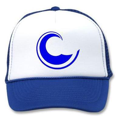 Golden Sand blue cap