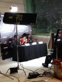 Press Film Scene