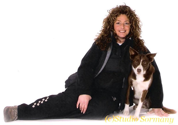 Annette Duguay and Dog