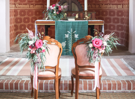 Boho Style Wedding at Castle Kartzwo