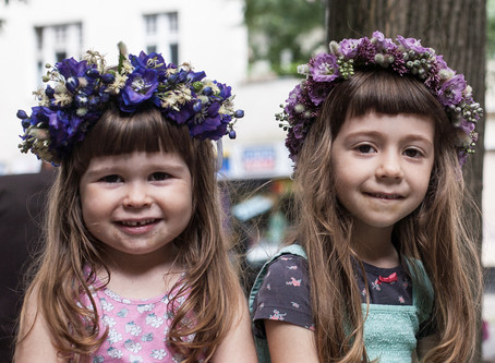Floral Wreaths for Girls