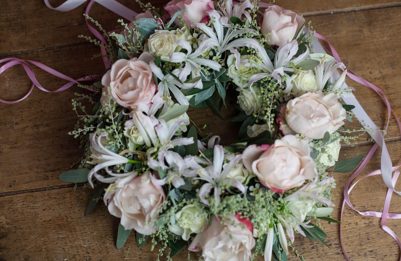 Tischkranz Romantic Wedding
