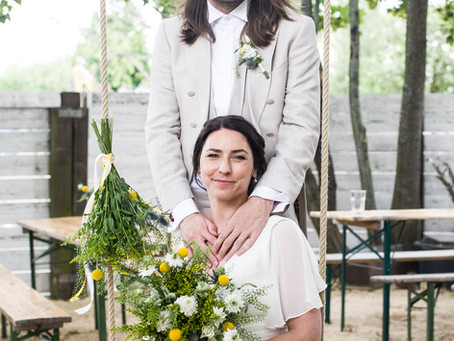 Garden style wedding at Schönwetter Berlin