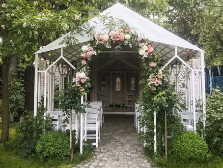 Wedding at the Oberhafen Katine in Berlin